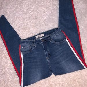 Streetwear society high rise skinny jeans